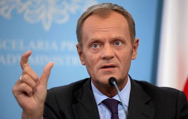 Туск: санкції проти Росії будуть розглянуті 18 грудня