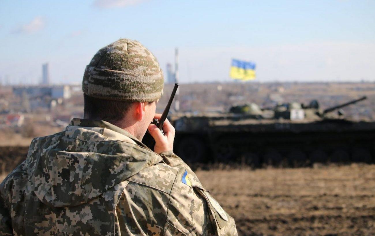 На Донбассе украинские войска обстреляли из ракетных комплексов