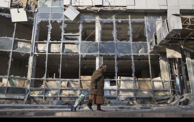 Фото: ситуация на Донбассе