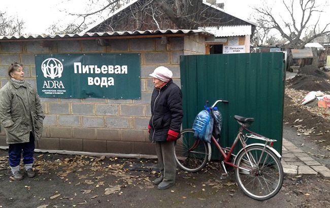 Сотні населених пунктів Донбасу можуть залишитися без водопостачання