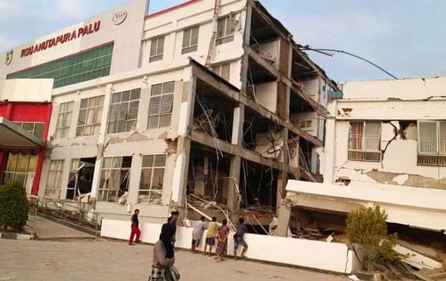Землетрус в Індонезії: кількість загиблих зросла до 1407