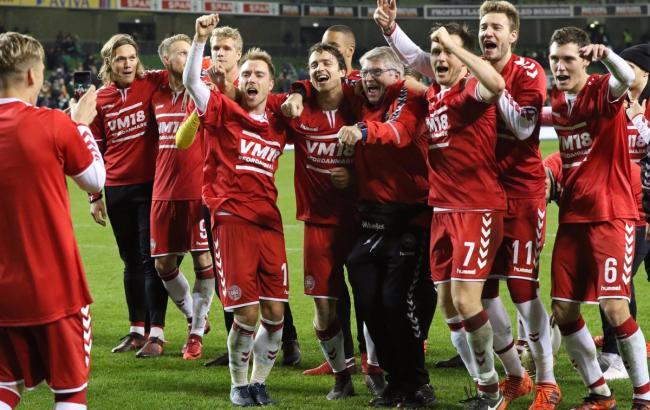 Фото: збірна Данії (twitter.com/FIFAWorldCup)