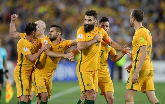 Фото: сборная Австралии (twitter.com/FIFAWorldCup)