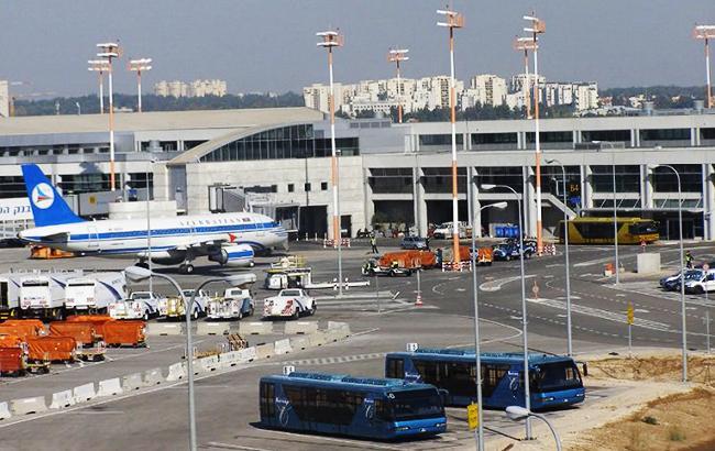 Фото: аэропорт имени Бен-Гуриона (twitter.com/UkrZaKordonom)