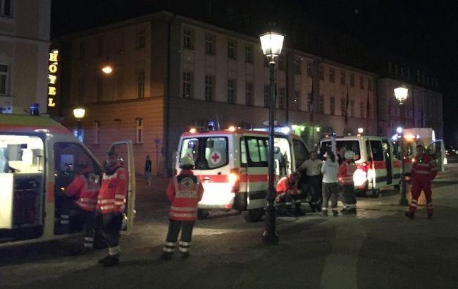 Фото: подозреваемый пытался попасть на территорию фестиваля Ansbach Open