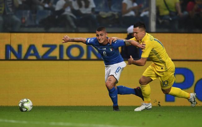 Збірна України зіграла внічию проти команди Італії