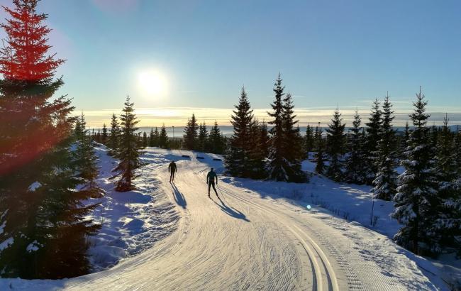 Фото: норвежский горнолыжный центр Шушен (twitter.com/IBU_CUP)
