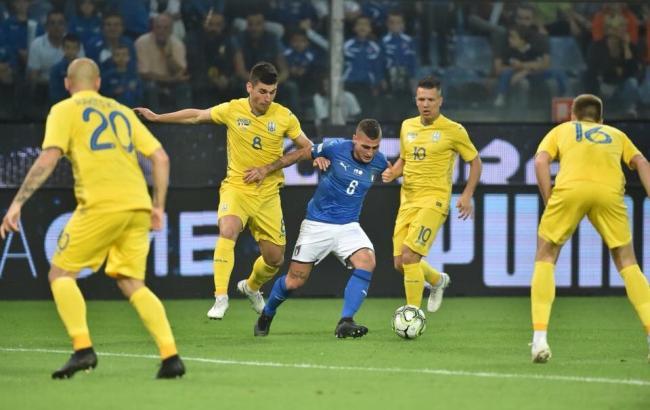 Італія - Україна 1-1: відео голів та огляд матчу