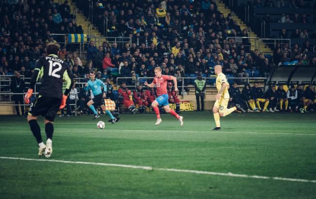 Збірна України обіграла Чехію і достроково виграла групу Ліги націй