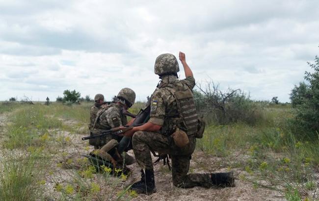 В зоні АТО за день поранення отримали двоє українських військових, - штаб