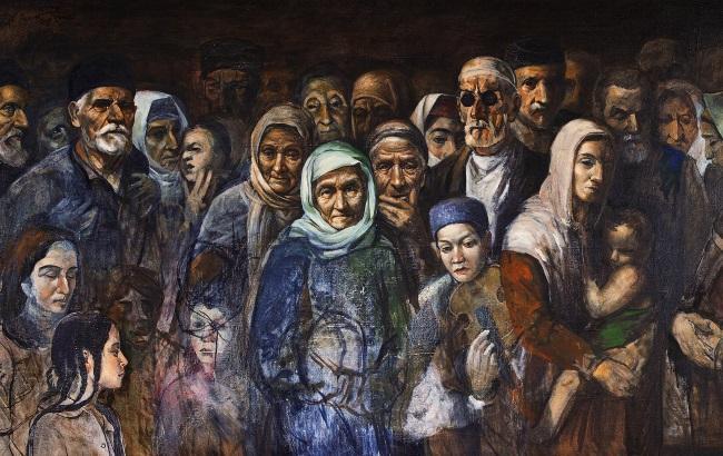 Депортация крымских татар.