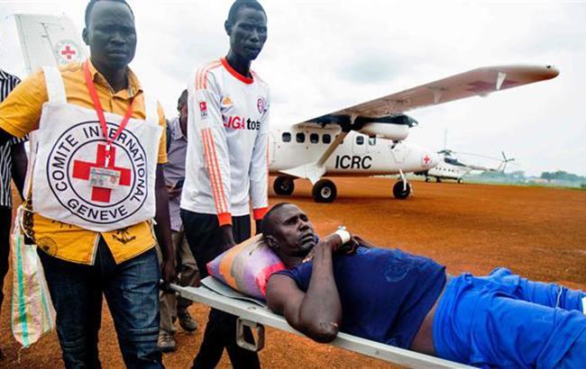 Фото: потерпевшие в результате боев в Южном Судане (twitter.com/Iranpower4)