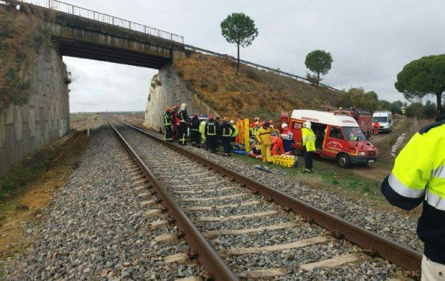 Фото: авария (twitter.com/E112Andalucia)