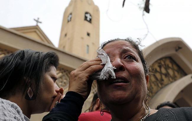 Число погибших в итоге взрыва мечети вЕгипте возросло до85 человек