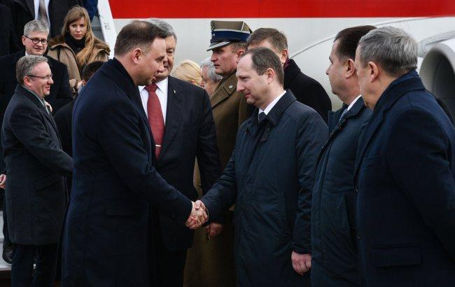 Фото: встреча президентов (twitter.com/poroshenko)