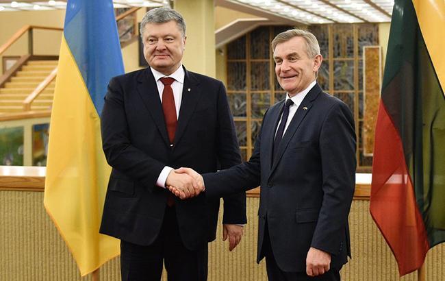 Україна і Литва заявили про необхідність посилення санкцій ЄС проти Росії