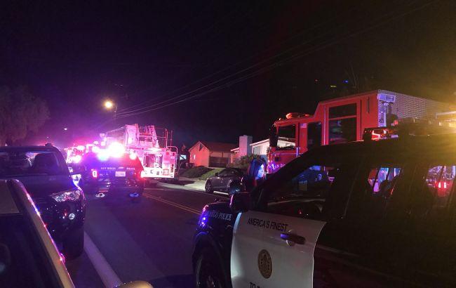 Фото: рятувальні служби на місці аварії (twitter.com/SDFD)