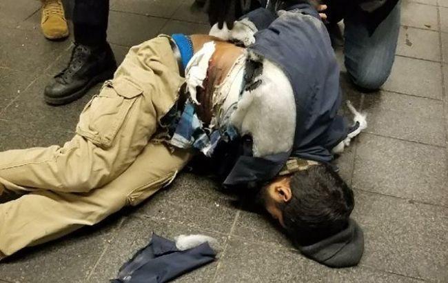 Фото: подозреваемый в теракте в Нью-Йорке (twitter.com/nypost)