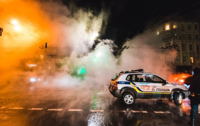 Прорыв трубы в Киеве: восстановлено движение транспорта по Жилянской