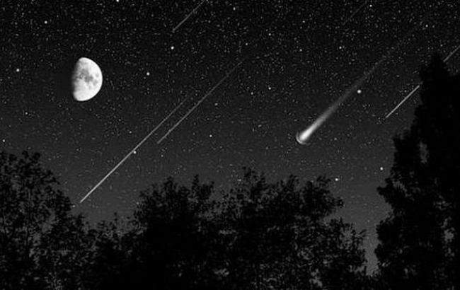 Фото: Метеоры Драконид (facebook.com)