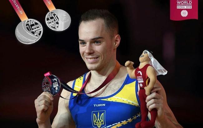 Верняєв став віце-чемпіоном світу зі спортивної гімнастики