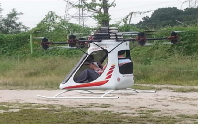 Фото: пассажирский дрон