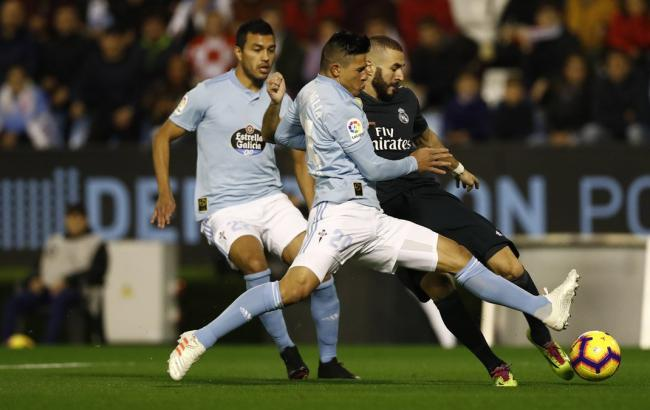 """Три гравця """"Реала"""" отримали травми в матчі з """"Сельтою"""""""