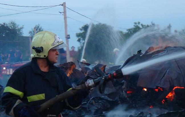 В Ивано-Франковской области ликвидирован пожар деревянной православной церкви, - ГСЧС