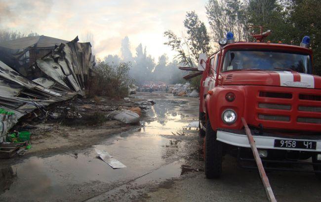Фото: пожарная машина