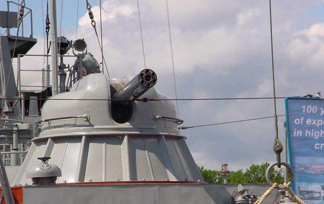 Фото: артиллерийская установка АК-630