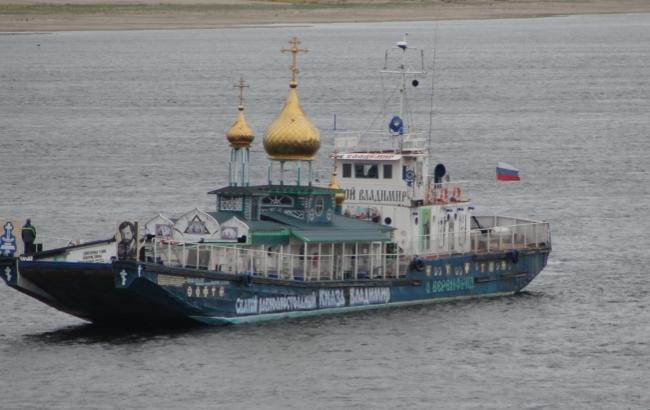 Фото: В Криму хочуть пустити плавучий храм