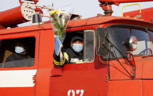 Пожежі в Луганській області: ДСНСвивела свої підрозділи