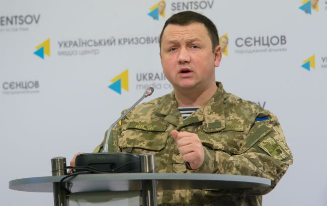 Фото: начальник прес-центру Генштабу Олексій Мазепа