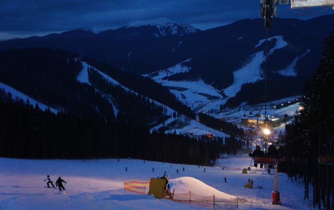 Буковель - известный горно-лыжный курорт Ивано-Франковской области
