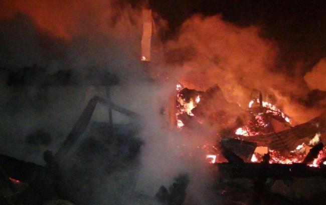 У поліції розповіли подробиці пожежі під Одесою
