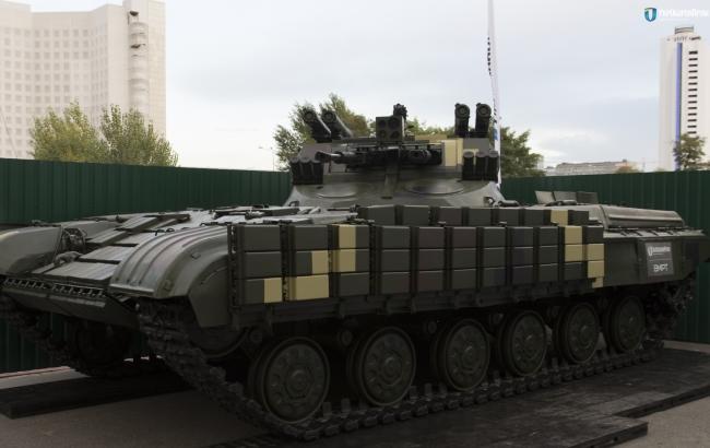 В Украине презентовали новую боевую машину с необычными пушками