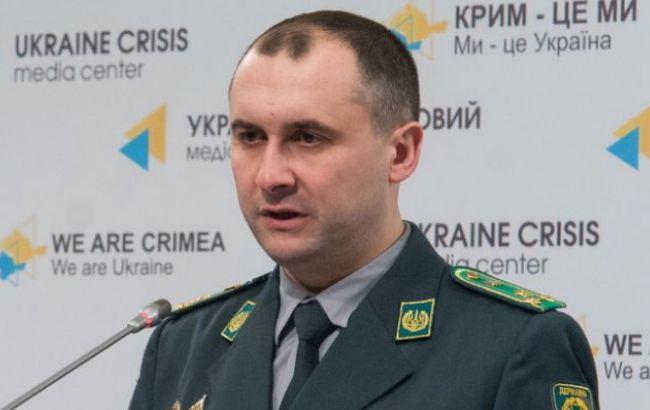 Фото: помощник главы Госпогранслужбы Украины Олег Слободян