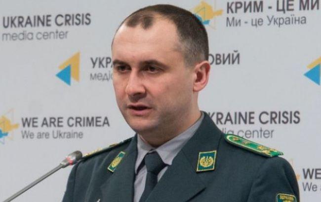 Фото: помощник главы Госпогранслужбы Олег Слободян
