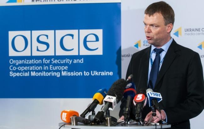 Місія ОБСЄ залишила Широкіно через обстріли