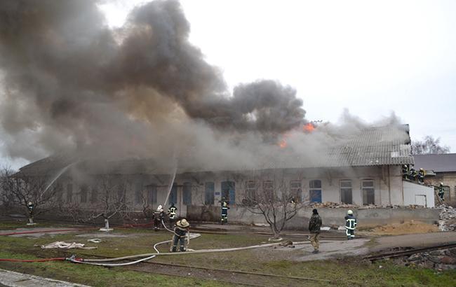 Фото: пожар в Одессе (dsns.gov.ua)