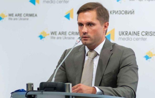 Фото: голова АМКУ Юрій Терентьєв