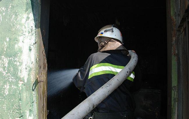 Фото: пожежа на базі військової частини Миколаєва