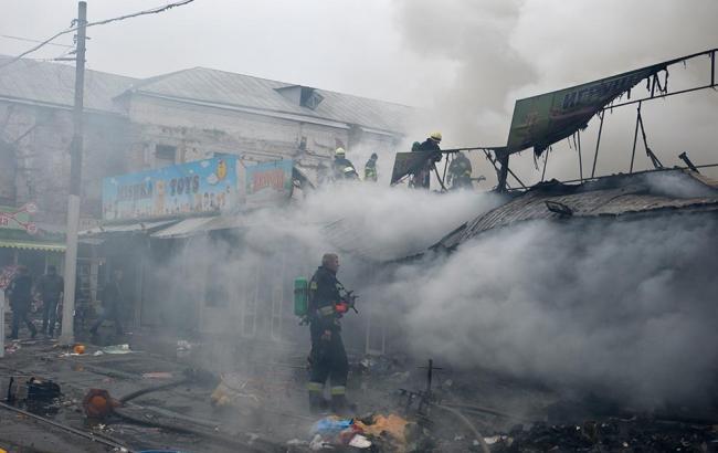 Впламени сгорело 3 человека— Пожар под Черкассами