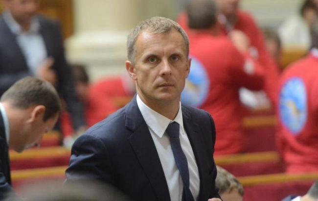 С.Мельничук написал объявление овыходе изгруппы «Воля народа»