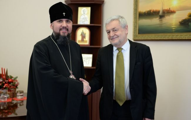 Посол Польщі висловив підтримку ПЦУ