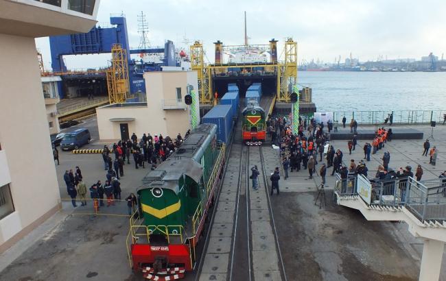 Фото: Україна запустила поїзд до країн Середньої Азії в обхід РФ
