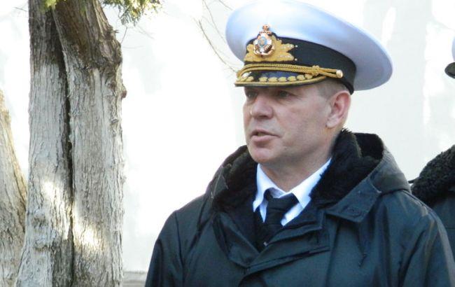 Фото: главнокомандующий ВМС Украины Сергей Гайдук
