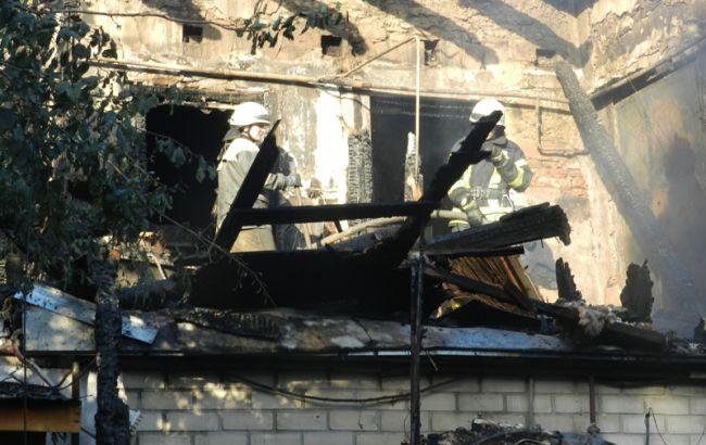 Фото: пожар в Херсоне (http://kherson.dsns.gov.ua)