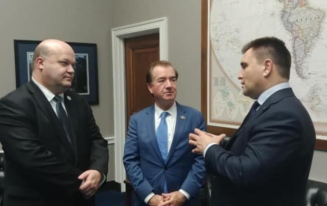Климкин обсудил с сенаторами и конгрессменами США усиление давления на Россию