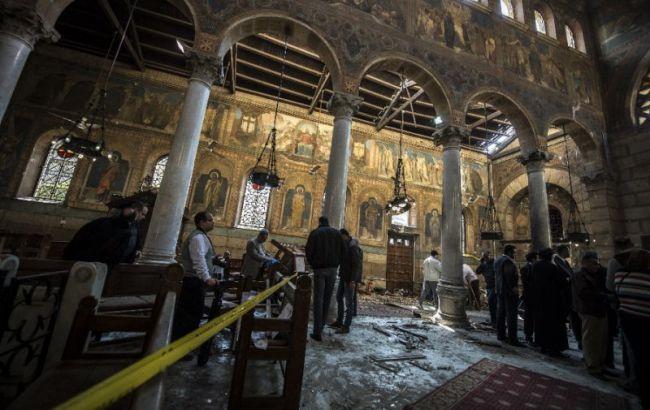 Нападение накоптскую церковь вЕгипте: необошлось без жертв